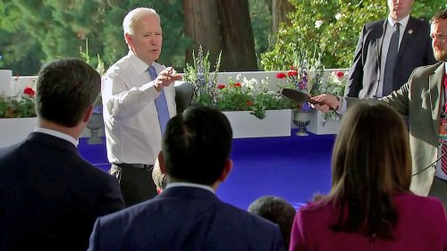 Biden snaps at reporter over Putin question: 'You're in the wrong business'