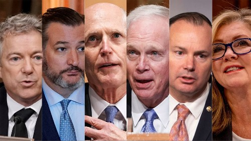 Why these 6 GOP senators voted against coronavirus relief package