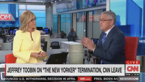 Twitter explodes at CNN's Jeffrey Toobin comeback following Zoom masturbation scandal: 'This is CNN'