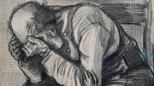 'New' Van Gogh drawing never displayed publicly now at Amsterdam museum