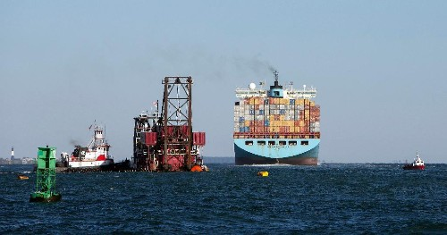Maersk ship loses 750 containers overboard in Pacific Ocean