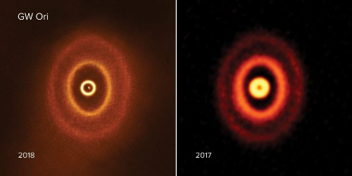 Three-star system in deep space may be home to planet, researchers find