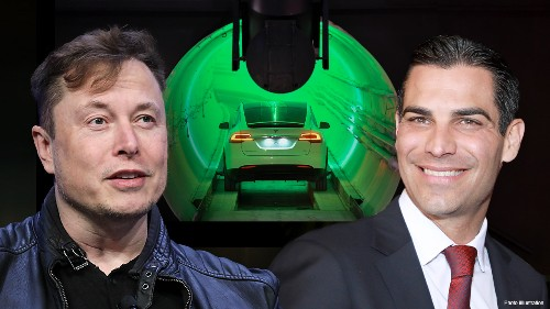 Miami mayor 'open' to Elon Musk's underground tunnel proposal