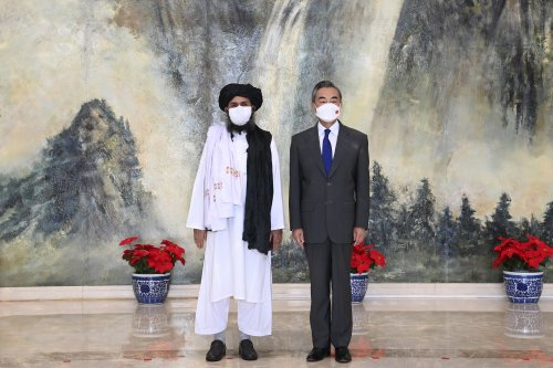 China expects Taliban to play 'important' role in Afghan peace