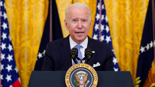 Biden sidesteps question on justification for letting unvaccinated migrants into US