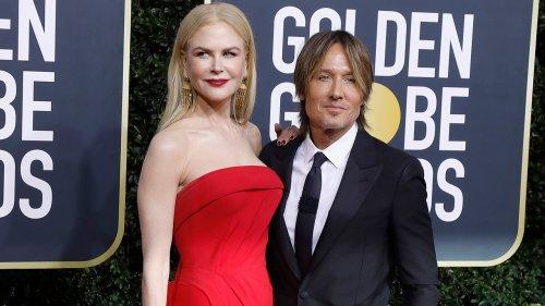 Golden Globe nominee Nicole Kidman, Keith Urban's daughters make rare appearance at award show
