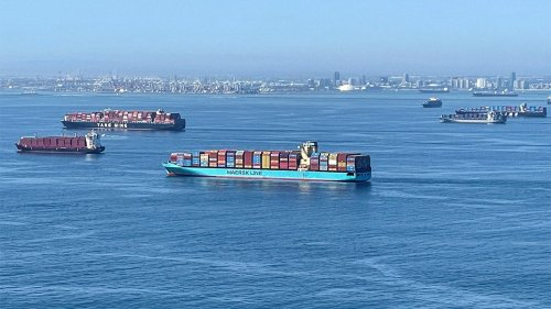 US Coast Guard monitoring 'adrift shipping containers' off Pacific coast amid supply chain crisis