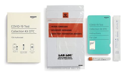 Amazon selling its own COVID-19 test kits for $39.99