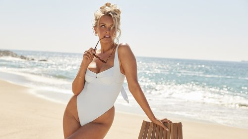 Camille Kostek, Rob Gronkowski's longtime girlfriend, launches Swimsuits for All collection