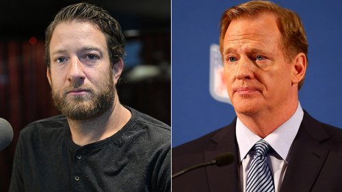 Portnoy riffs on '$40 million punching bag' Goodell: Feud started 'as a joke'; he's 'least self-aware' exec