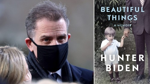 Hunter Biden to release memoir 'Beautiful Things' in April focusing on substance abuse