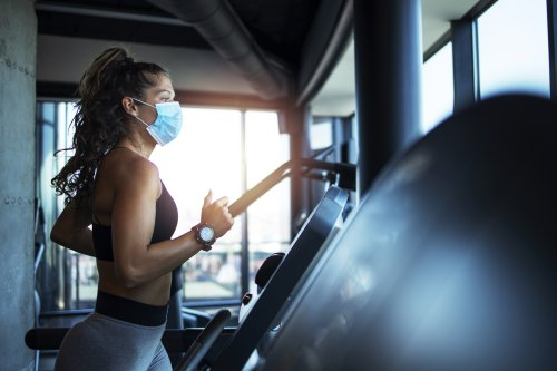 Coronavirus face mask use safe during intense exercise, early research suggests