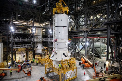 NASA starts assembling Artemis Space Launch System rocket