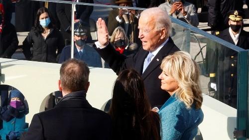 Joe Biden sworn in as 46th president, says 'democracy has prevailed' in inaugural address