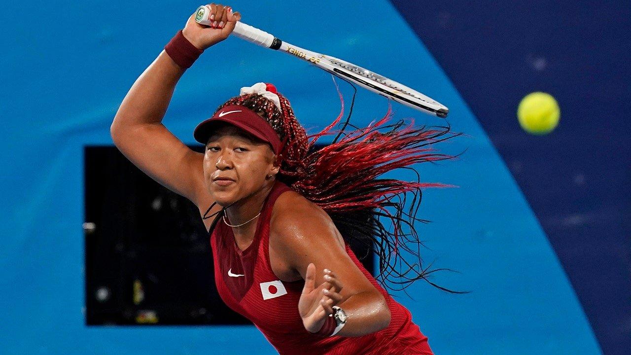 Naomi Osaka: High pressure of Olympics 'a bit much'