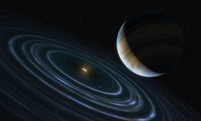 Discover planet nine