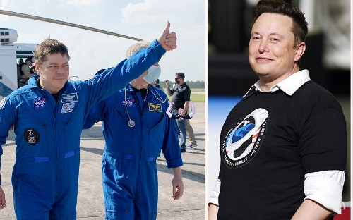 Elon Musk after historic SpaceX splashdown: 'I prayed for this one'