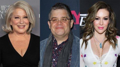 Celebrities react to the vice presidential debate