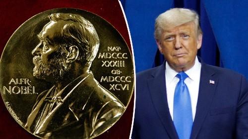 Trump gets third 2020 Nobel Peace Prize nomination