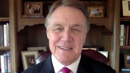 David Perdue: Democrat rhetoric on Georgia voting law is 'all about power'
