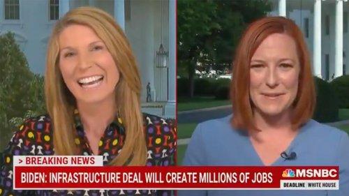 MSNBC's Nicolle Wallace gushes over Jen Psaki: 'Vast majority' of reporters like you