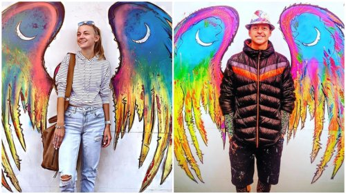 Gabby Petito angel mural: Colorado artist's work takes on new meaning after tragedy
