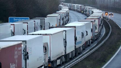 UK travel bans strand more than 1,500 France-bound trucks