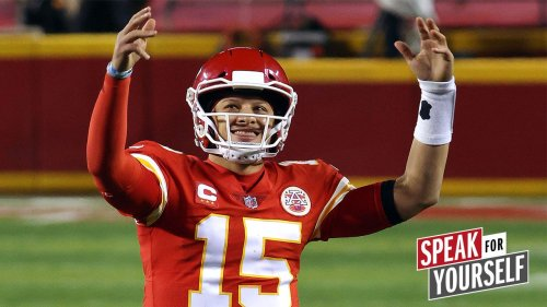 Marcellus Wiley disagrees with Patrick Mahomes' comment about defeat | SPEAK FOR YOURSELF