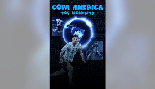 Copa América 2021 Top Moments: Argentina-Chile