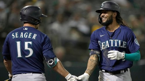 J.P. Crawford goes 3-for-5 with a homer as Mariners beat Athletics, 5-3