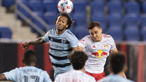 Sporting KC earns first victory of season with 2-1 win over NY Red Bulls