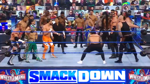 Stars collide at Andre the Giant Memorial Battle Royal on special WrestleMania Smackdown