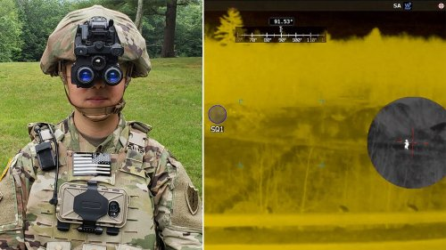 Army's new night vision goggles compared to something 'from aliens'