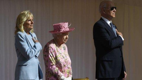 Treffen auf Schloss Windsor: Queen erinnert Joe Biden an seine Mutter