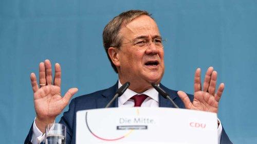 Umfrage zur Bundestagswahl: Die Luft für Armin Laschet wird immer dünner