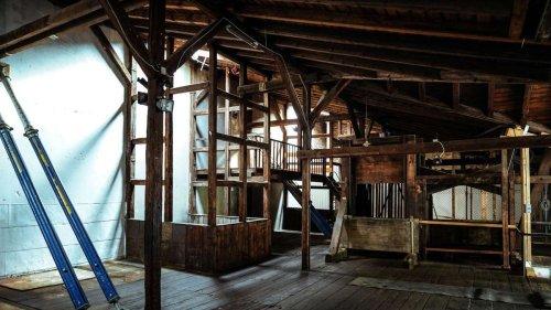 Frankfurt: Konzertsaal in der alten Ölfabrik