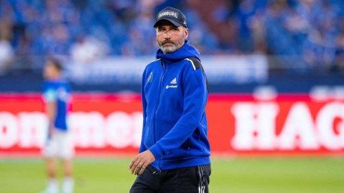 Gefährliches Spiel: HSV-Trainer Tim Walter fordert seine Mannschaft