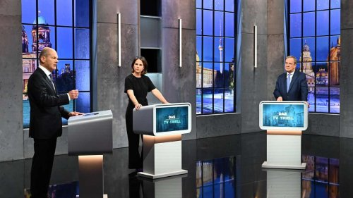"Live-Ticker zum TV-Triell – Baerbock gereizt zu Laschet: ""Bleiben Sie bei den Fakten"""