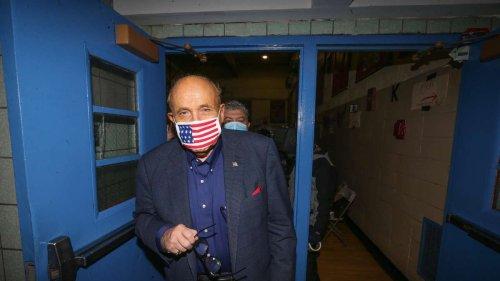 """Der Abstieg des Rudy Giuliani: """"Sollen mich doch ins Gefängnis stecken"""""""