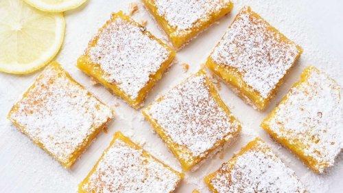 Perfekt für Zitrus-Fans: Backen Sie fruchtige Lemon Bars nach amerikanischem Rezept