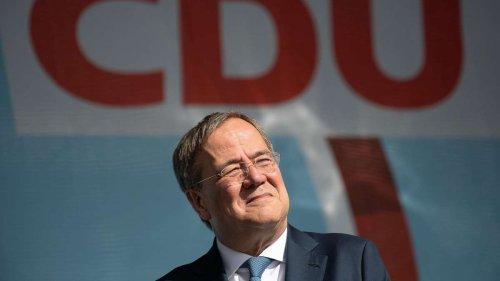 Neue Umfrage vor Bundestagswahl: Gelingt Armin Laschet die Wende?
