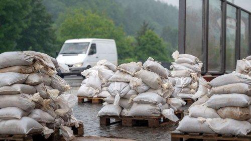 Hochwassergebiete: Schon kleine Mengen Niederschlag könnten zum Problem werden