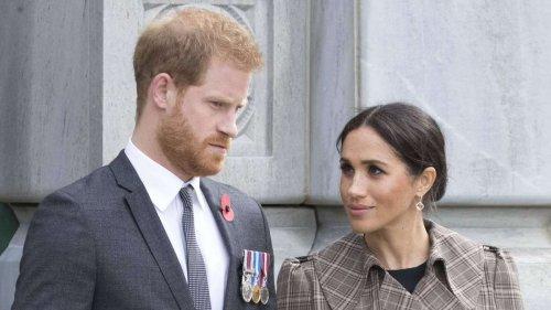 Harry und Meghan: Ihre Rückkehr nach London fällt ins Wasser