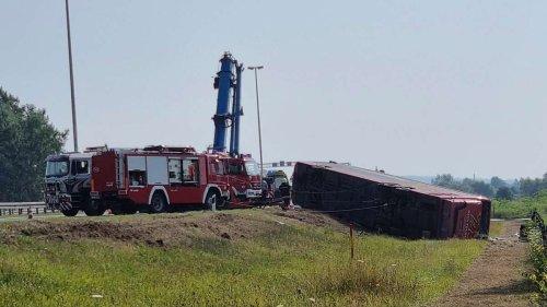 Zehn Tote: Bus aus Frankfurt verunglückt in Kroatien – Neue Details zum Unfallhergang