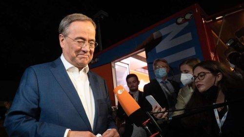 ZDF-Politbarometer: Für Laschet wird es immer enger