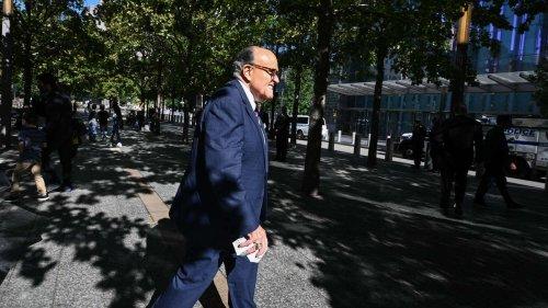 Rudy Giuliani äfft die Queen nach - Eklat bei Gedenkveranstaltung zu 9/11