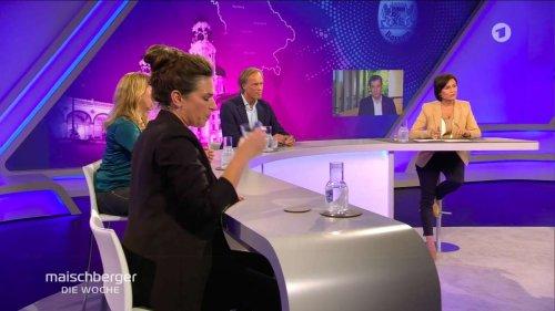 Markus Söder bei Maischberger (ARD): Wahlkampf-Blabla und Grünen-Bashing