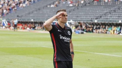 Eintracht Frankfurt bezwingt AS St. Etienne - Borré knipst bei Debüt