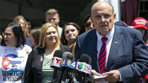 Rudy Giuliani steht vor der Pleite - Donald Trump wendet sich ab