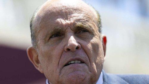 Rudy Giuliani in Schwierigkeiten - doch ein neuer Kollege macht ihm Hoffnung